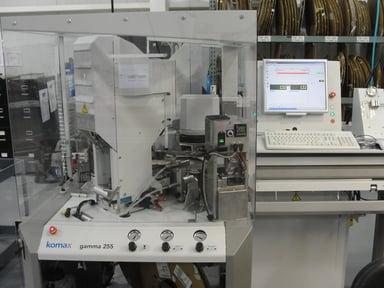 Komax Gamma Machine