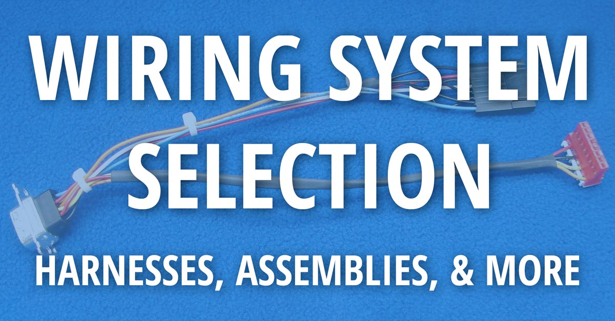 wiring-system-selection